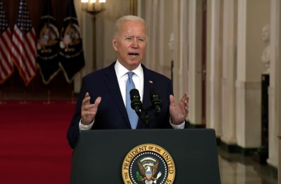 Live: President Biden on Ending the War in Afghanistan