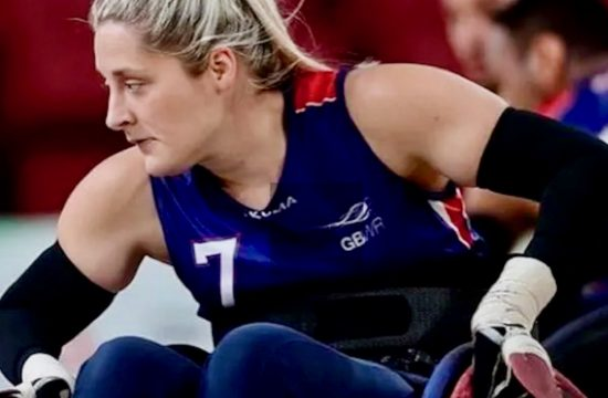 Tokyo: GB wheelchair rugby player Kylie Grimes