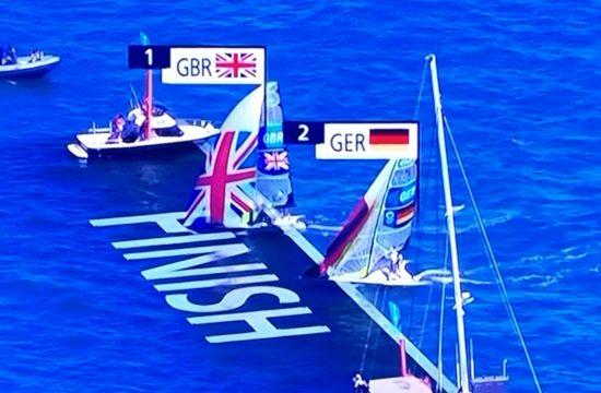 Team GB Win Sailing Gold