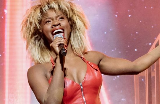 Tina Turner back on stage in London