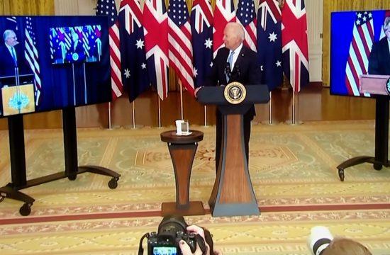 AUKUS: Australia-UK-US nuclear submarine pact