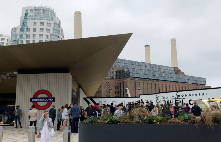 Street Party for new Battersea Power Station Tube stop