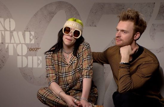 Billie and brother Finneas talk Bond song