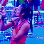 a champion tennis player