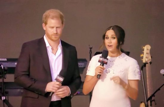 Harry and Meghan at Global Citizen Live in New York City