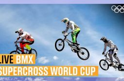 Live BMX action from the Supercross World Cup!