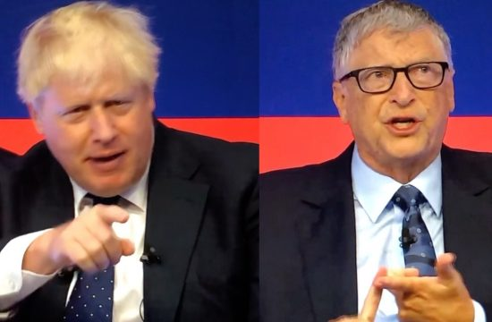 Bill and Boris together on Global Investment