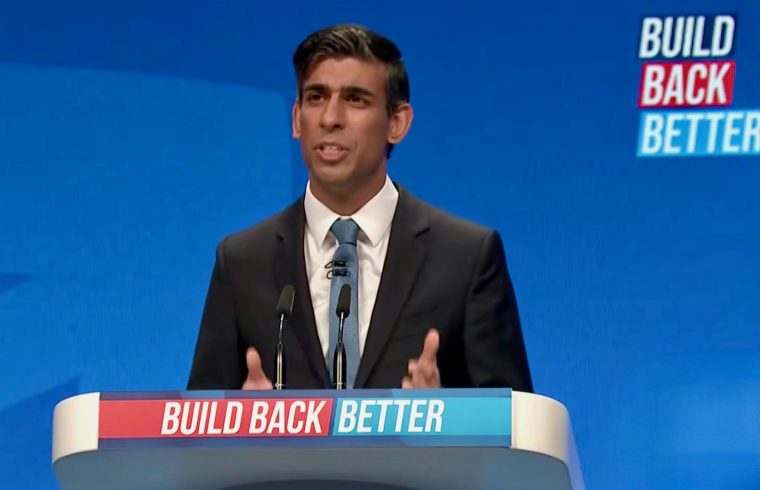 Rishi speaking at Conference 2021