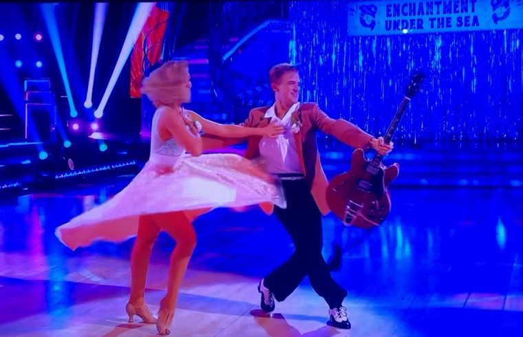 Strictly: Tom and Amy's Jive - what a comeback!